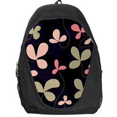 Elegant floral design Backpack Bag