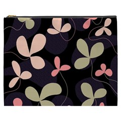 Elegant floral design Cosmetic Bag (XXXL)