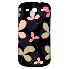 Elegant floral design Samsung Galaxy S3 S III Classic Hardshell Back Case
