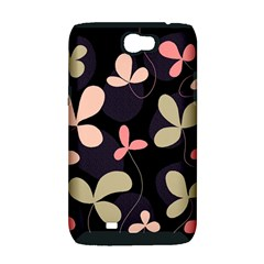 Elegant floral design Samsung Galaxy Note 2 Hardshell Case (PC+Silicone)