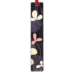 Elegant floral design Large Book Marks