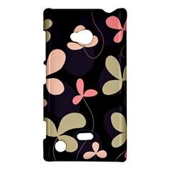 Elegant floral design Nokia Lumia 720