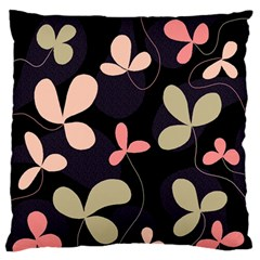 Elegant floral design Standard Flano Cushion Case (Two Sides)