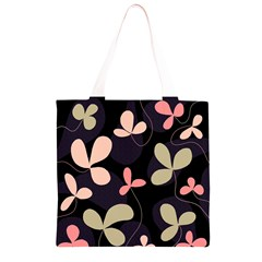 Elegant floral design Grocery Light Tote Bag