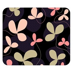 Elegant floral design Double Sided Flano Blanket (Small)
