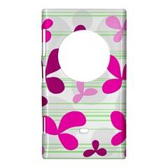 Magenta floral pattern Nokia Lumia 1020