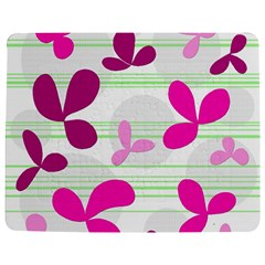 Magenta floral pattern Jigsaw Puzzle Photo Stand (Rectangular)
