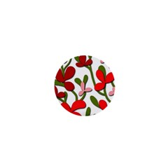 Floral tree 1  Mini Buttons
