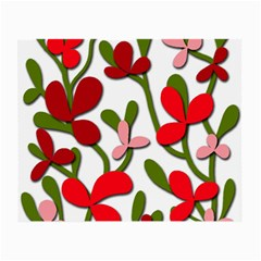 Floral tree Small Glasses Cloth