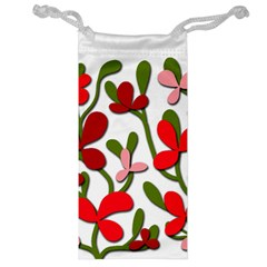 Floral tree Jewelry Bags