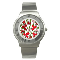 Floral tree Stainless Steel Watch