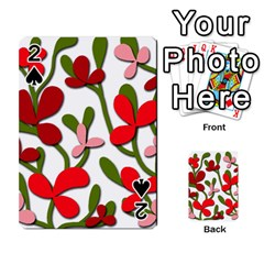 Floral tree Playing Cards 54 Designs