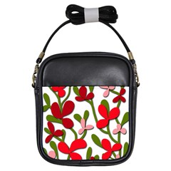 Floral tree Girls Sling Bags