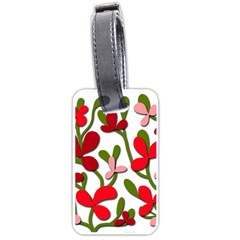 Floral tree Luggage Tags (Two Sides)
