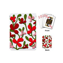 Floral tree Playing Cards (Mini)