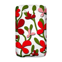 Floral tree HTC ChaCha / HTC Status Hardshell Case