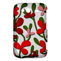 Floral tree HTC Wildfire S A510e Hardshell Case