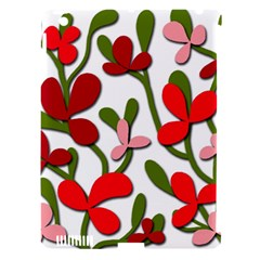 Floral tree Apple iPad 3/4 Hardshell Case (Compatible with Smart Cover)