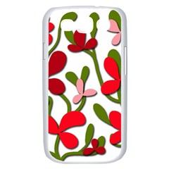 Floral tree Samsung Galaxy S III Case (White)