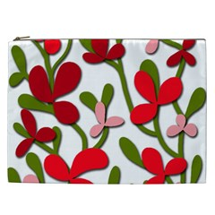 Floral tree Cosmetic Bag (XXL)
