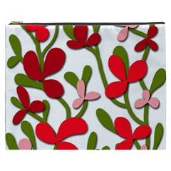 Floral tree Cosmetic Bag (XXXL)