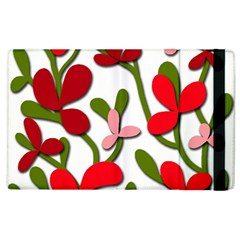Floral tree Apple iPad 2 Flip Case
