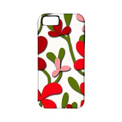 Floral tree Apple iPhone 5 Classic Hardshell Case (PC+Silicone)