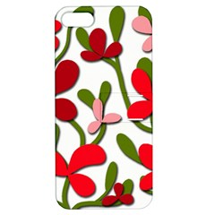 Floral tree Apple iPhone 5 Hardshell Case with Stand