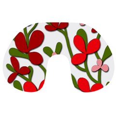 Floral tree Travel Neck Pillows