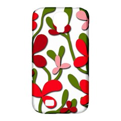 Floral tree Samsung Galaxy S4 Classic Hardshell Case (PC+Silicone)