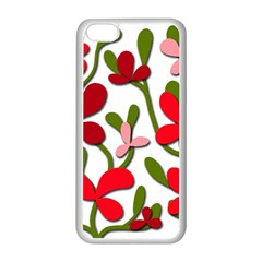 Floral tree Apple iPhone 5C Seamless Case (White)