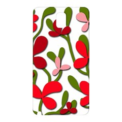 Floral tree Samsung Galaxy Note 3 N9005 Hardshell Back Case