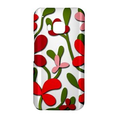 Floral tree HTC One M9 Hardshell Case