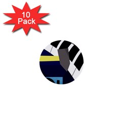 Hard 1  Mini Buttons (10 pack)