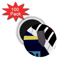 Hard 1.75  Magnets (100 pack)