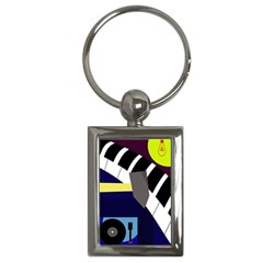 Hard Key Chains (Rectangle)