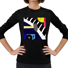 Hard Women s Long Sleeve Dark T-Shirts