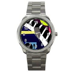 Hard Sport Metal Watch