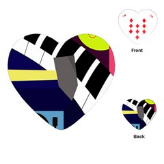 Hard Playing Cards (Heart)