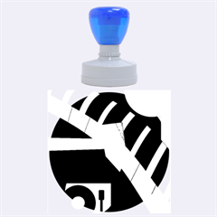 Hard Rubber Round Stamps (Large)