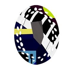 Hard Ornament (Oval Filigree)