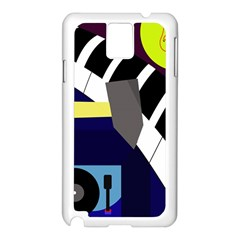 Hard Samsung Galaxy Note 3 N9005 Case (White)