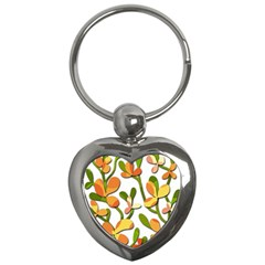 Decorative floral tree Key Chains (Heart)