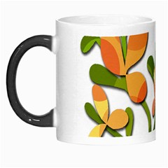 Decorative floral tree Morph Mugs