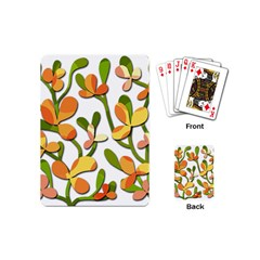 Decorative floral tree Playing Cards (Mini)