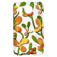 Decorative floral tree HTC Desire HD Hardshell Case