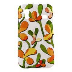 Decorative floral tree Samsung Galaxy Ace S5830 Hardshell Case