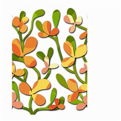Decorative floral tree Small Garden Flag (Two Sides)