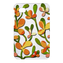 Decorative floral tree Samsung Galaxy Tab 7  P1000 Hardshell Case