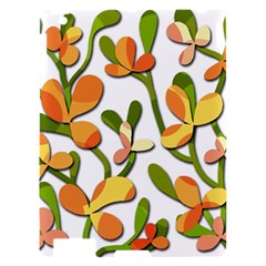 Decorative floral tree Apple iPad 2 Hardshell Case